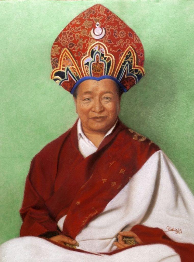 O Πτριάρχης Dudjom Riponche