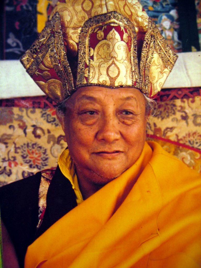 O Πατριάρχης Dilgo Khyentse