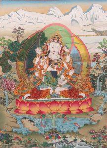 Βαζρασάτβα (ο Βούδας της Ανατολής)